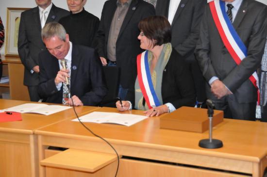 20141107 - 073 - 20 ans Ilvesheim - Signature charte Ilvesheim