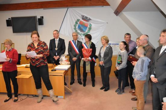 20141107 - 111 - 20 ans Ilvesheim - Remise cadeaux Ilvesheim