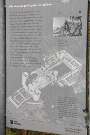 20141108 - 127 - 20 ans Ilvesheim - Visite site Heiligenberg