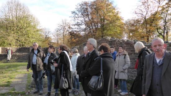 20141108 - 129 - 20 ans Ilvesheim - Visite site Heiligenberg