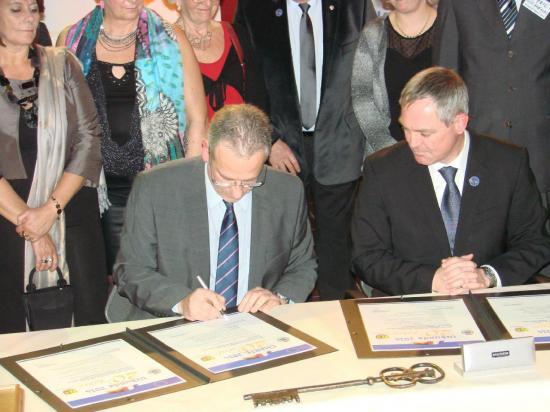 Signature Charte JVV